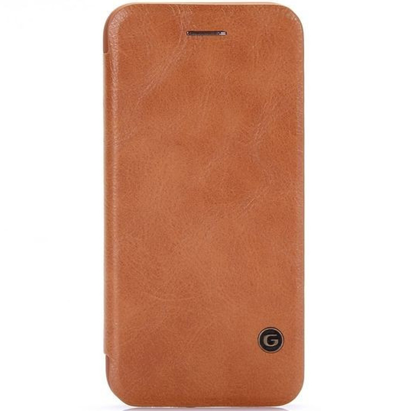 "Кожаный чехол книжка G-Case Vintage Business Series для Apple iPhone 7 plus (5.5"")"