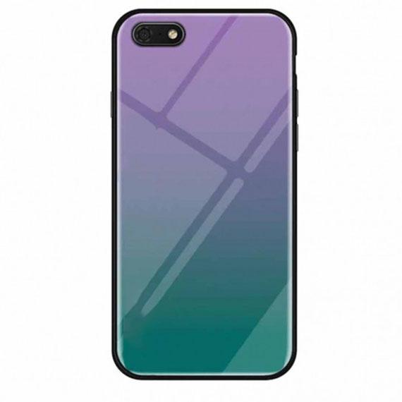 TPU+Glass чехол Gradient series для Huawei Y5 (2018) / Y5 Prime (2018)
