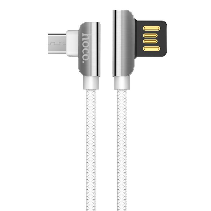 Дата кабель Hoco U42 Exquisite Steel Micro USB Cable (1.2m)