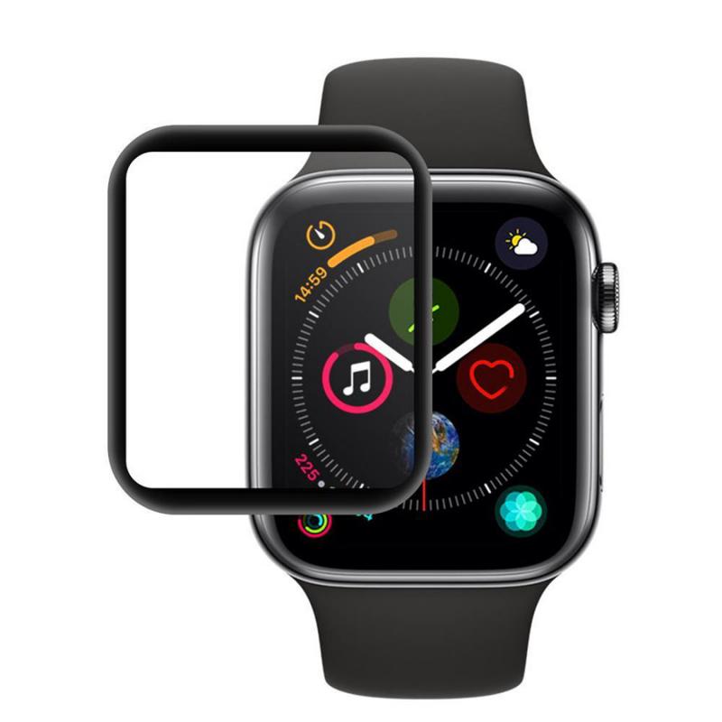 Защитное цветное 3D стекло Mocolo (full glue) для Apple Watch 4 (40mm)