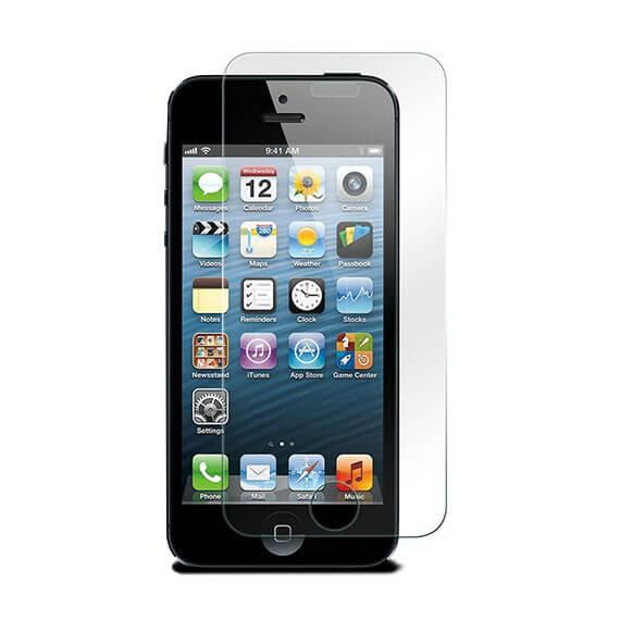 Защитное стекло Ultra Tempered Glass 0.33mm (H+) для Apple iPhone 5/5S/SE (картонная упаковка)