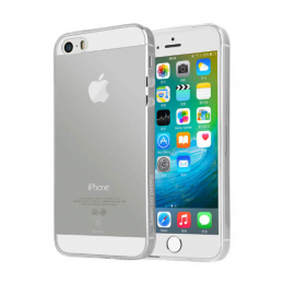Защитное стекло Ultra Tempered Glass 0.33mm (H+) для Apple iPhone 5/5S (на заднюю панель)