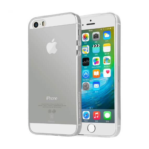 TPU чехол Ultrathin Series 0,33mm для для Apple iPhone 5/5S/SE