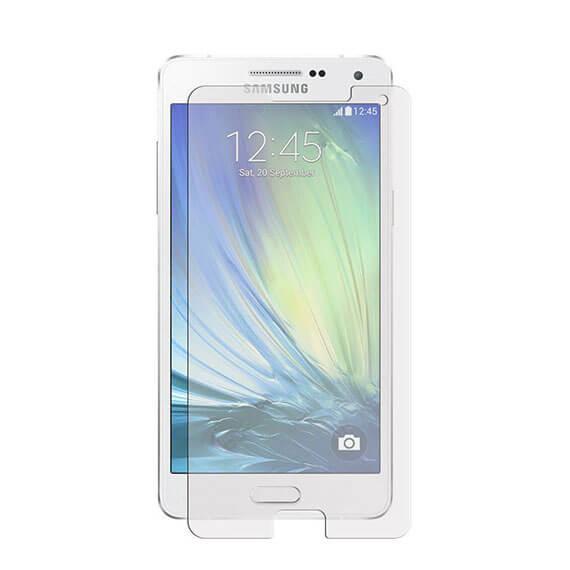 Защитное стекло Ultra Tempered Glass 0.33mm (H+) для Samsung A500H / A500F Galaxy A5 (карт. уп-вка)