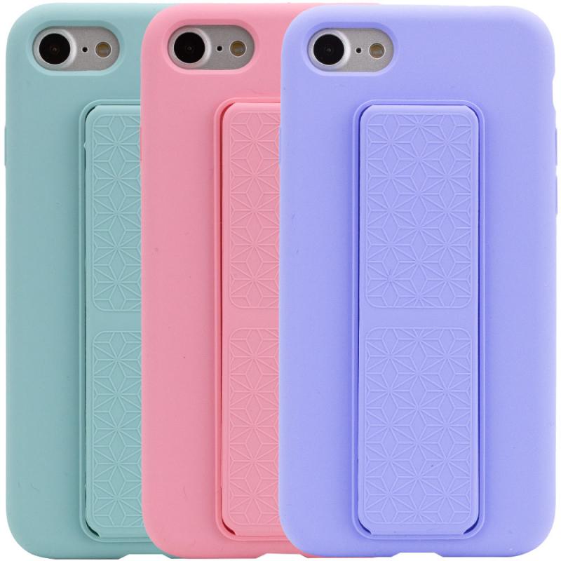 "Чехол Silicone Case Hand Holder для Apple iPhone 7 / 8 / SE (2020) (4.7"")"
