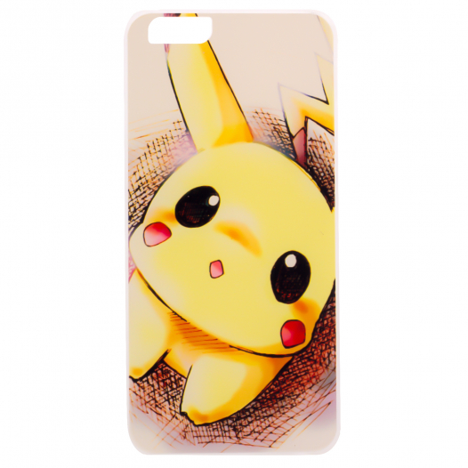 Ультратонкий TPU чехол Pokemon для Apple iPhone 6/6s (4.7
