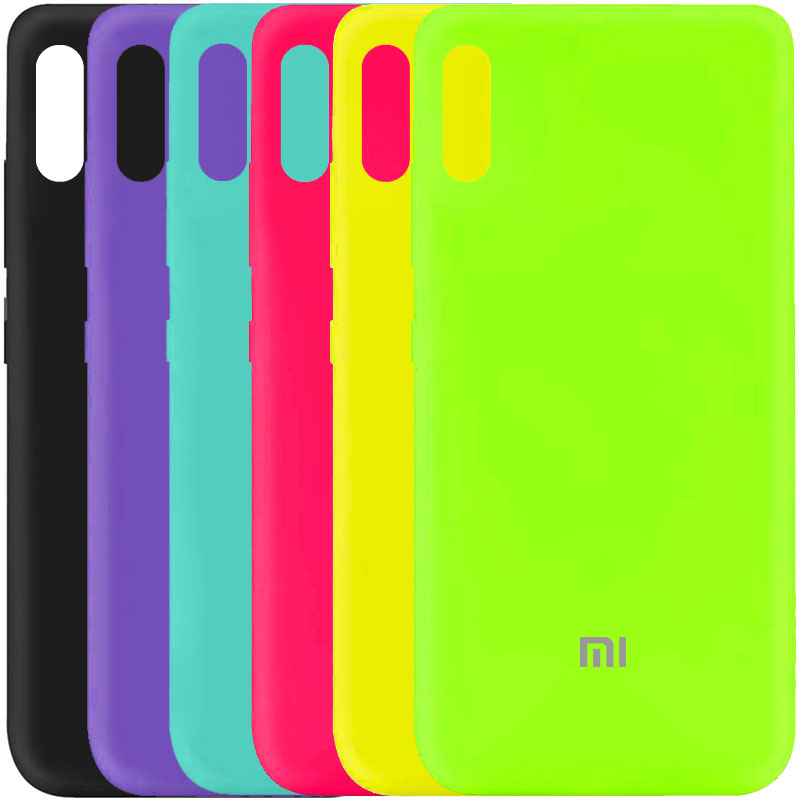Чехол Silicone Cover My Color Full Protective (A) для Xiaomi Redmi 9A