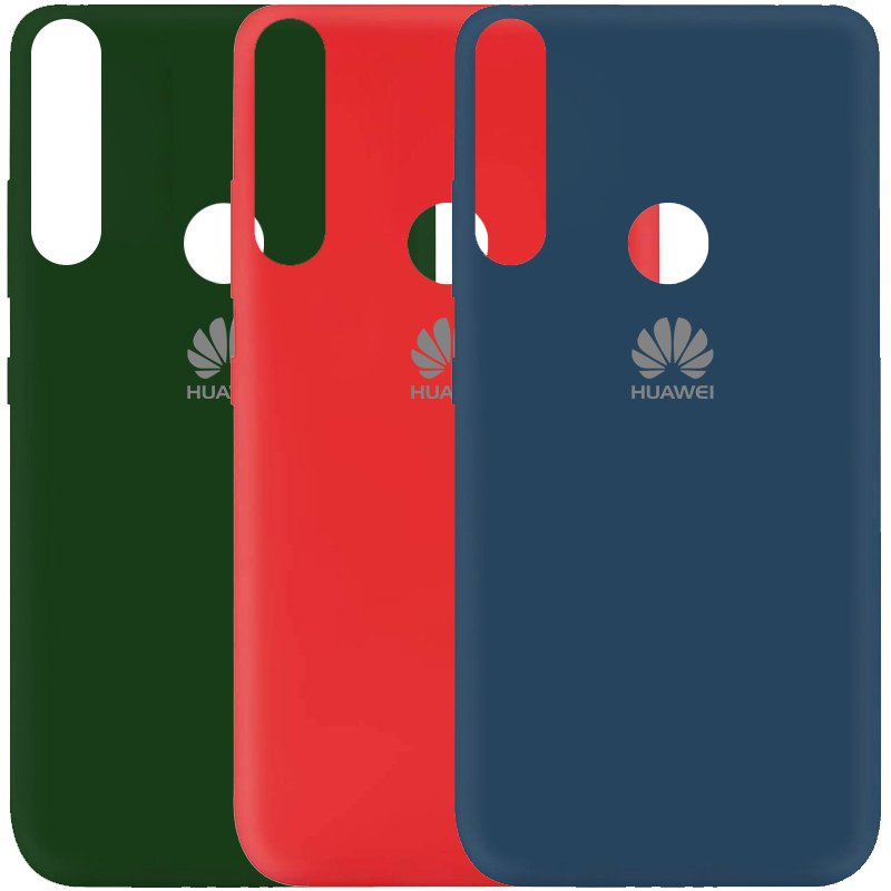 Чехол Silicone Cover My Color Full Protective (A) для Huawei P Smart Z