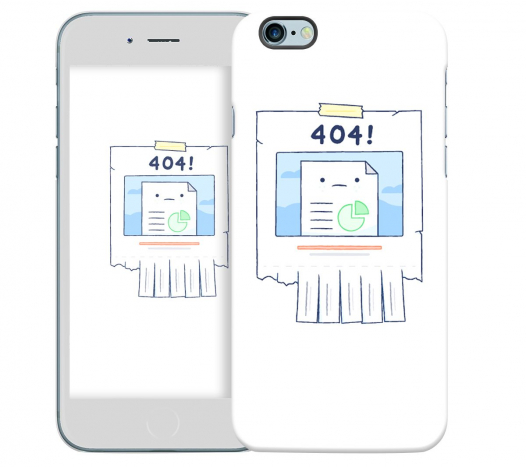 Чехол «404» для Apple iPhone 6/6s 4.7