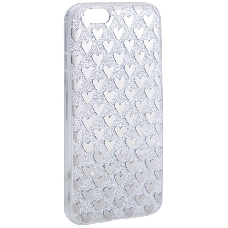 "TPU+PC чехол Shine Hearts для Apple iPhone 6/6s (4.7"")"