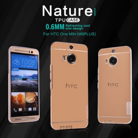 TPU чехол Nillkin Nature Series для HTC One / M9+