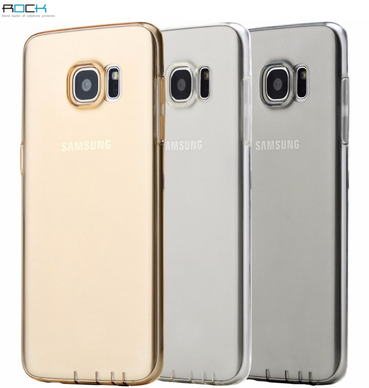 TPU чехол ROCK Ultrathin Slim Jacket для Samsung G935F Galaxy S7 Edge