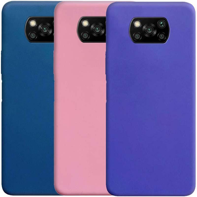 Силиконовый чехол Candy для Xiaomi Poco X3 NFC