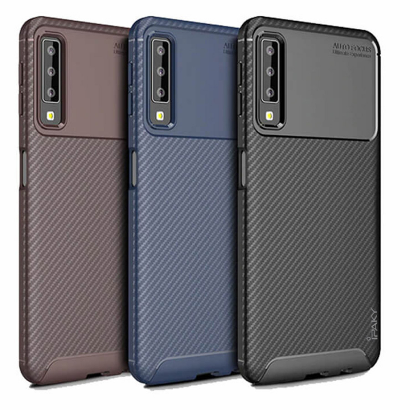 TPU чехол iPaky Kaisy Series для Samsung A750 Galaxy A7 (2018)