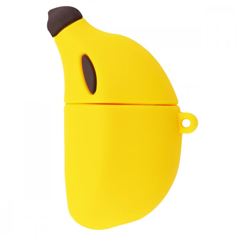 Силиконовый футляр Banana для наушников AirPods