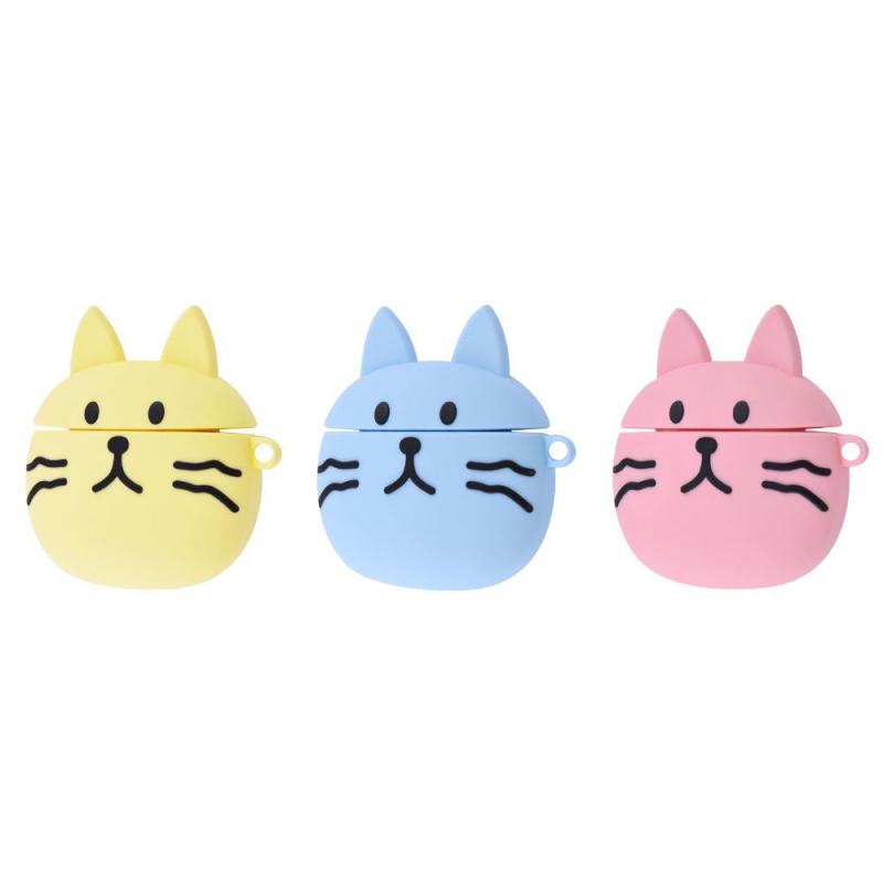 Силиконовый футляр Pretty Cats для наушников AirPods