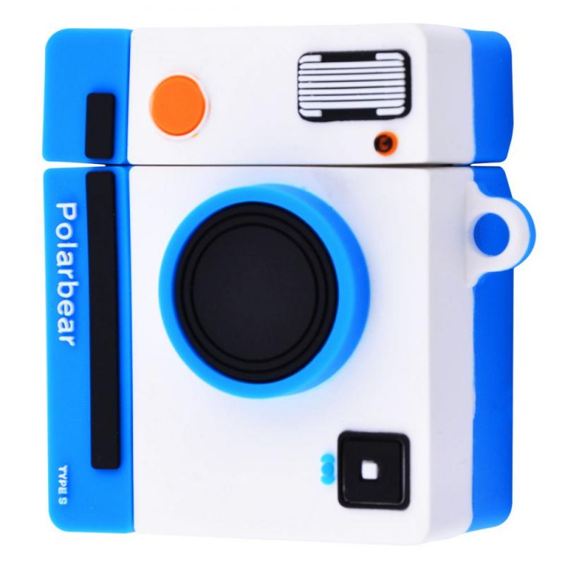 Силиконовый футляр Retro Camera для наушников AirPods