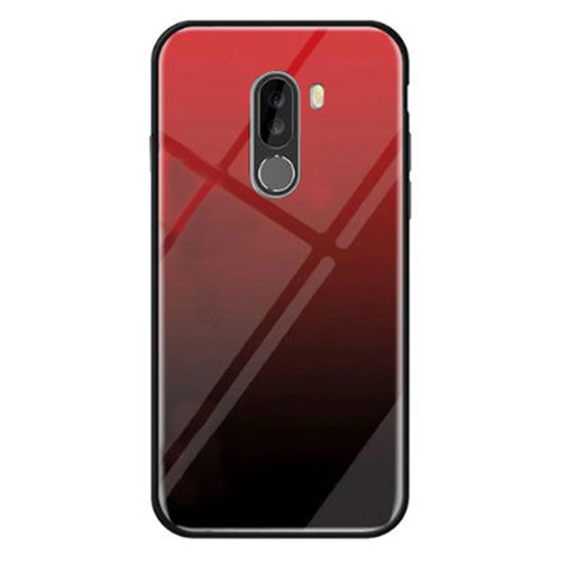 TPU+Glass чехол Gradient series для Xiaomi Pocophone F1