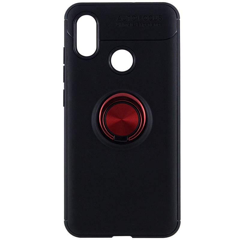 TPU чехол Deen ColorRing под магнитный держатель (opp) для Xiaomi Mi 8