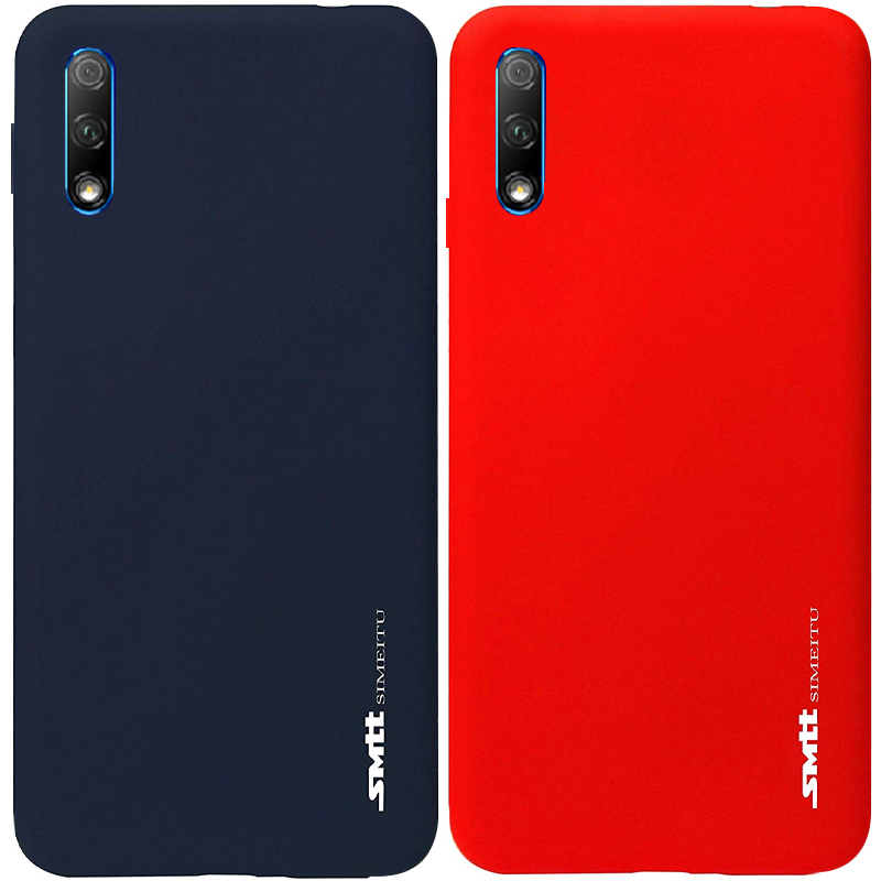 TPU чехол матовый SMTT для Huawei P Smart Pro / Honor 9X (China)