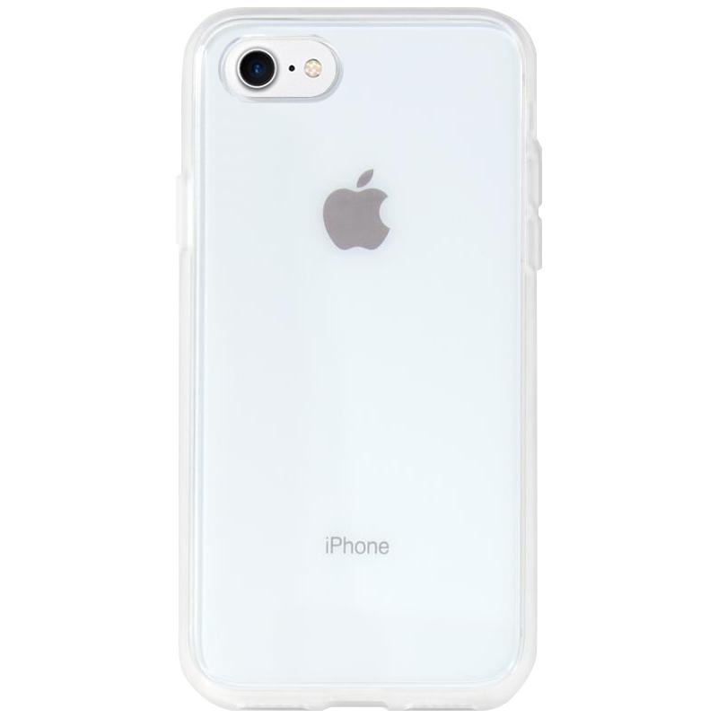 """Прозрачный силиконовый чехол с матовой окантовкой для Apple iPhone 7 (4.7"""")"""