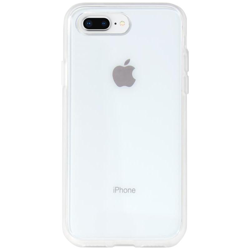 """Прозрачный силиконовый чехол с матовой окантовкой для Apple iPhone 7 plus (5.5"""")"""