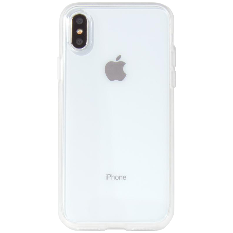 """Прозрачный силиконовый чехол с матовой окантовкой для Apple iPhone XS Max (6.5"""")"""