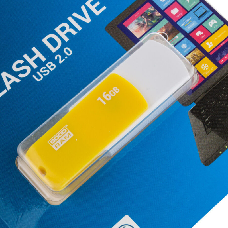 Флеш накопитель USB 16GB GOODRAM UCO2 (UCO2-0160MXR11)