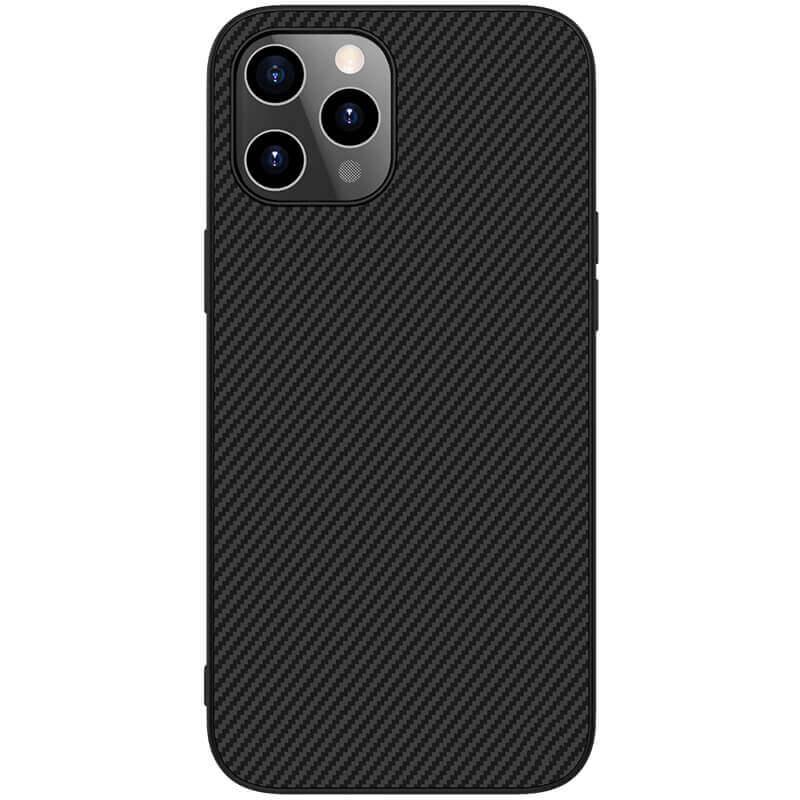 "Карбоновая накладка Nillkin Synthetic Fiber series для Apple iPhone 12 Pro Max (6.7"")"