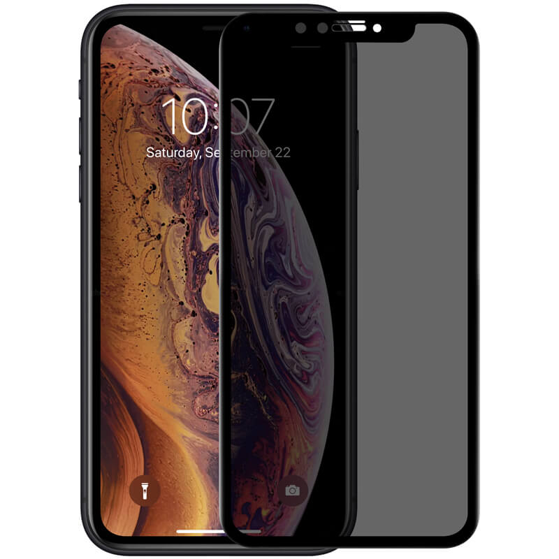 Защитное стекло Nillkin Privacy Glass Full Screen (3D AP+MAX) для Apple iPhone XR / 11