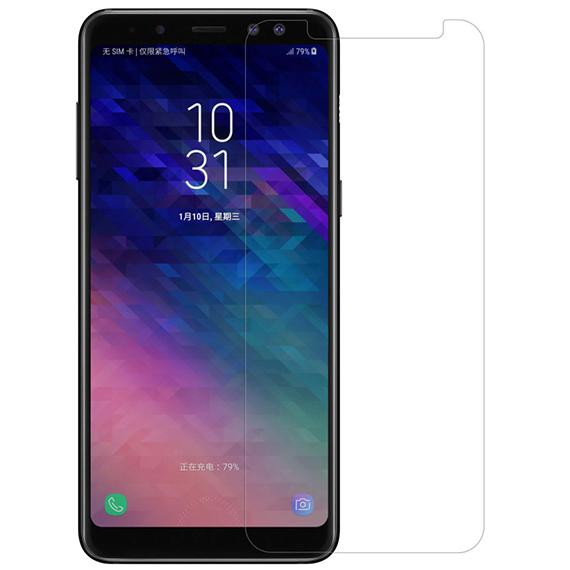 Защитная пленка Nillkin Crystal для Samsung A730 Galaxy A8+ (2018)