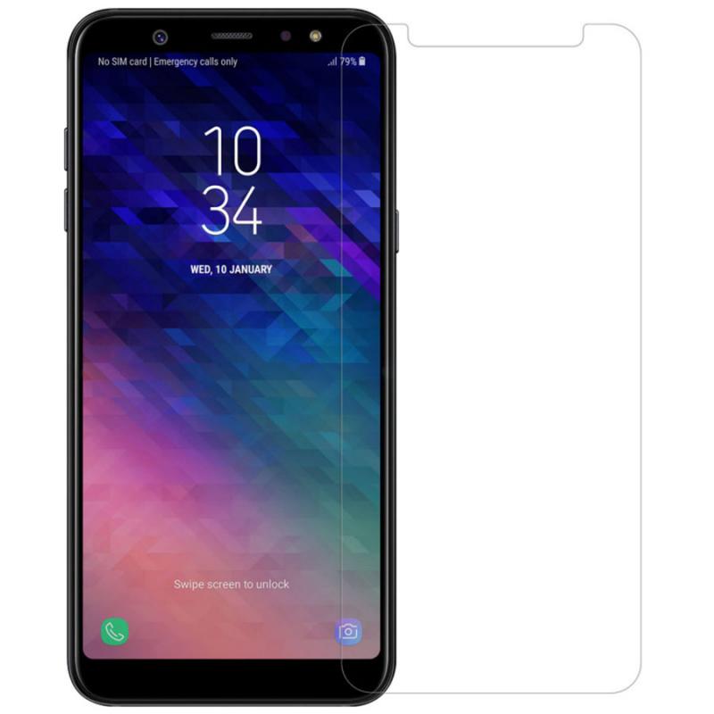 Защитная пленка Nillkin Crystal для Samsung Galaxy A6 Plus (2018) / Galaxy J8 (2018)