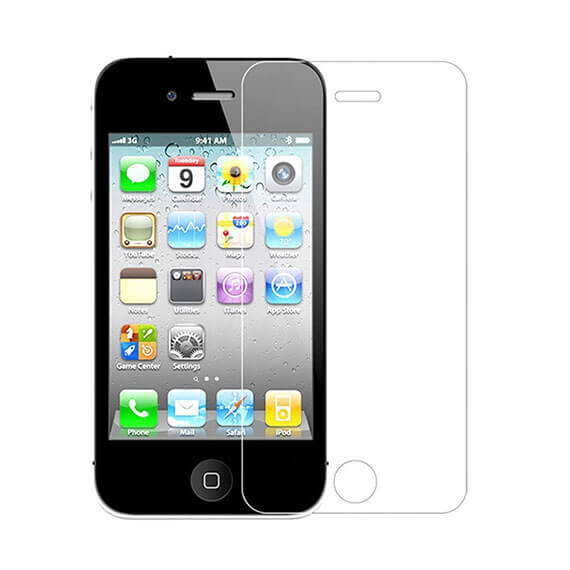 Защитное стекло Ultra Tempered Glass 0.33mm (H+) для Apple iPhone 4/4S (картонная упаковка)