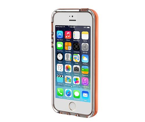 Светящийся TPU чехол ROCK Tube Series для Apple iPhone 5/5S/SE