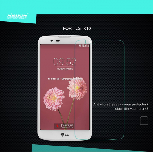 Защитное стекло Nillkin Anti-Explosion Glass Screen (H) для LG K10 K410/K430DS