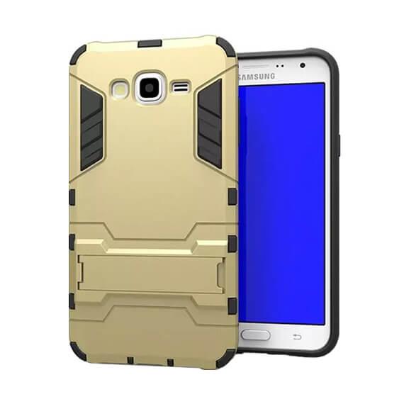 Ударопрочный чехол-подставка Transformer для Samsung J700H Galaxy J7 с мощной защитой корпуса