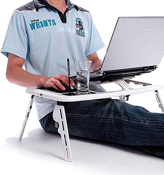 Многофункциональная подставка под ноутбук E-table