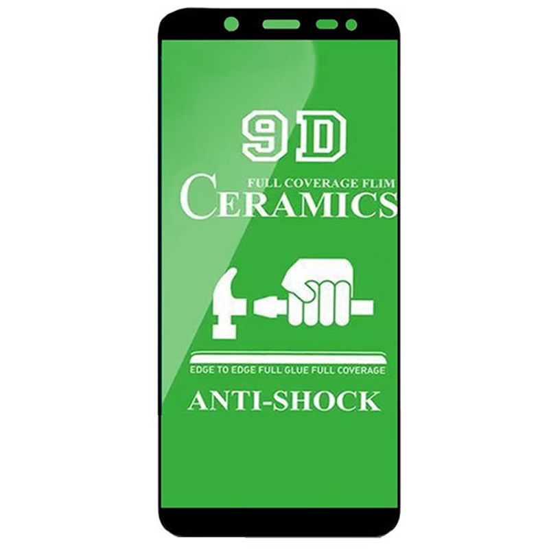 Защитная пленка Ceramics 9D для Samsung J600F Galaxy J6 (2018)