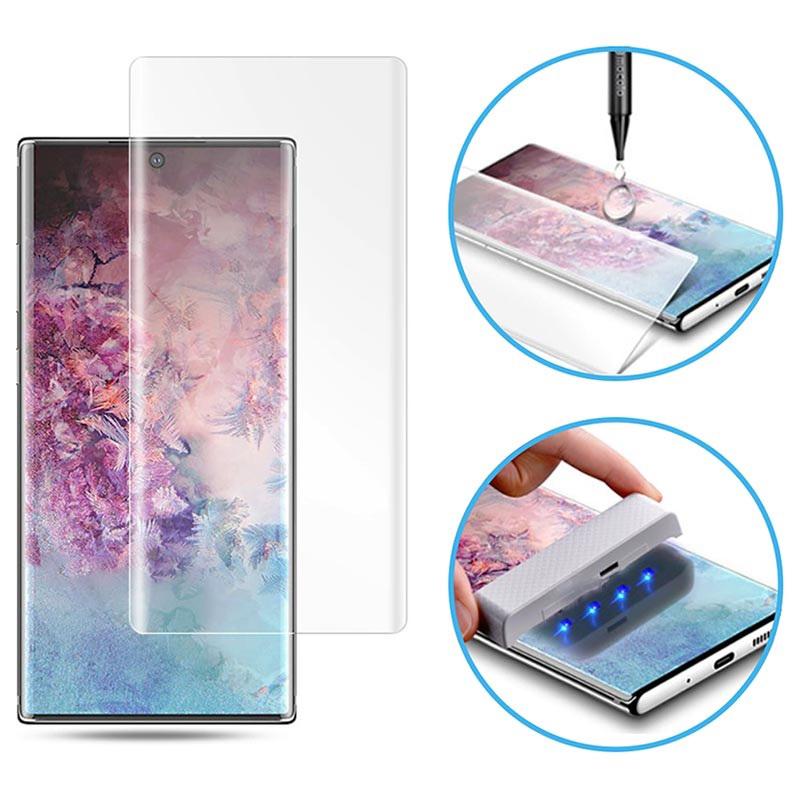 Защитное 3D стекло Mocolo с УФ лампой для Samsung Galaxy Note 20