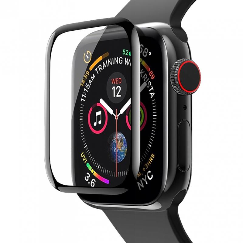 Полимерная пленка VMAX 3D (full glue) для Apple watch 44mm