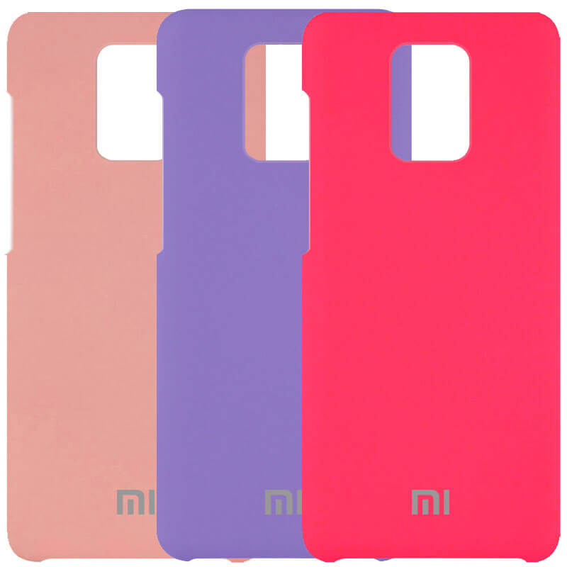 Чехол Silicone Cover (AAA) для Xiaomi Redmi Note 9s / Note 9 Pro / Note 9 Pro Max