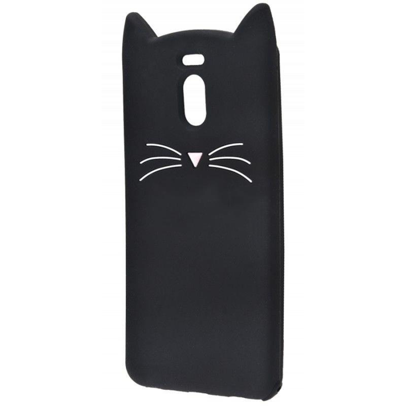 Силиконовая накладка 3D Cat для Meizu M6 Note