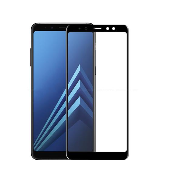Защитное цветное 3D стекло Mocolo для Samsung A530 Galaxy A8 (2018)