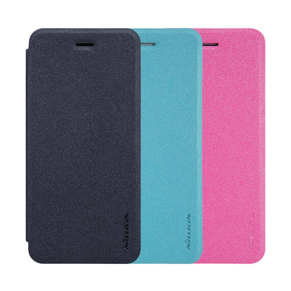 "Кожаный чехол (книжка) Nillkin Sparkle Series для Apple iPhone 7 / 8 (4.7"")"