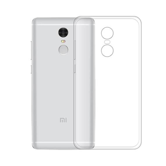 TPU чехол Ultrathin Series 0,33mm для Xiaomi Redmi Note 4 (MTK)