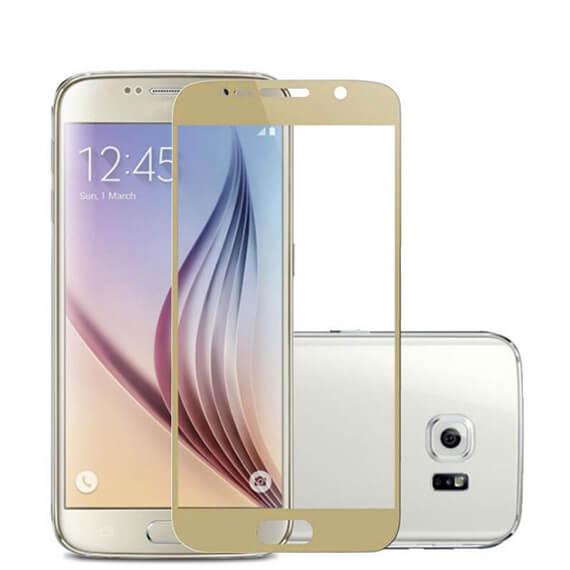 Защитное цветное 3D стекло Mocolo для Samsung G935F Galaxy S7 Edge