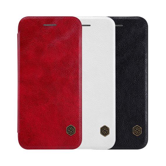 "Кожаный чехол (книжка) Nillkin Qin Series для Apple iPhone 8 plus (5.5"")"