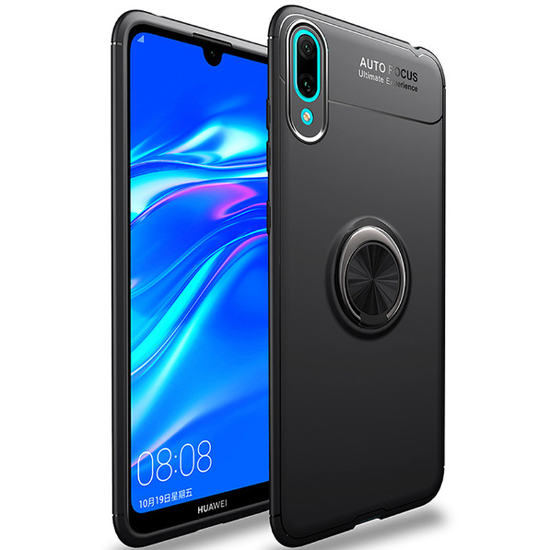 TPU чехол Deen ColorRing под магнитный держатель для Huawei Y7 (2019) / Huawei Y7 Prime
