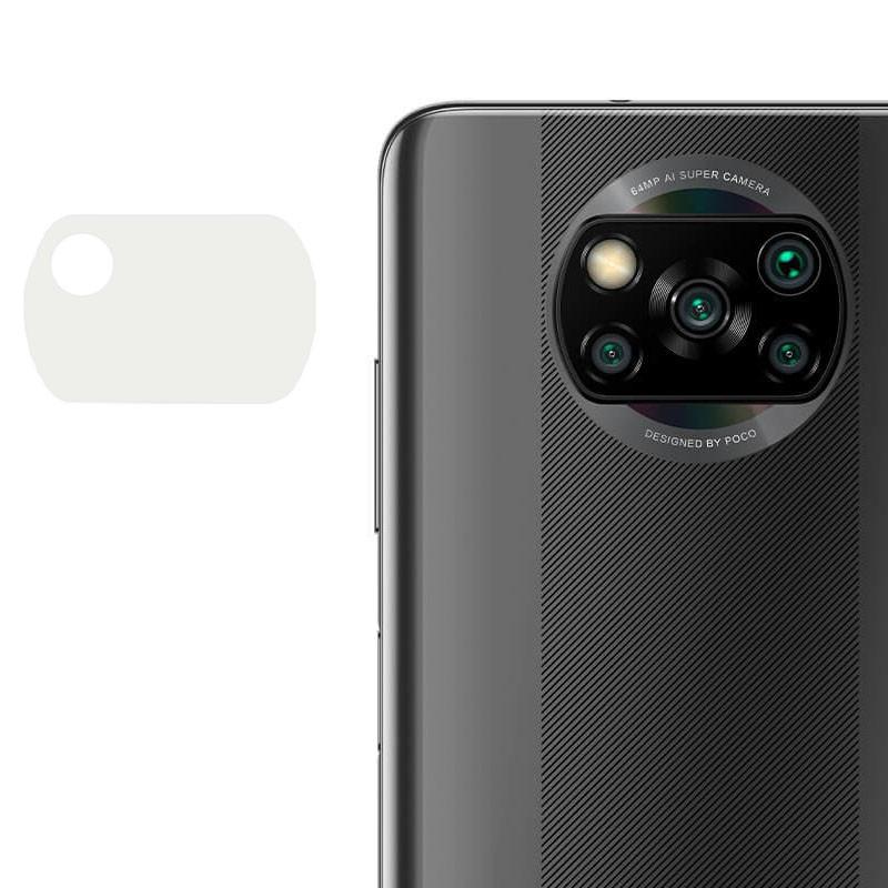 Гибкое защитное стекло 0.18mm на камеру (тех.пак) для Xiaomi Poco X3 / Poco X3 NFC / Poco X3 Pro