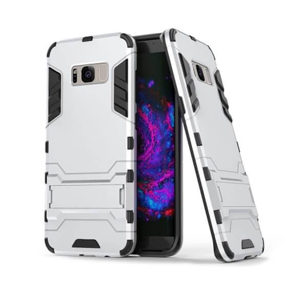 Ударопрочный чехол-подставка Transformer для Samsung G950 Galaxy S8 с мощной защитой корпуса